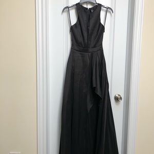 Windsor - Sexiest high low black dress - XS